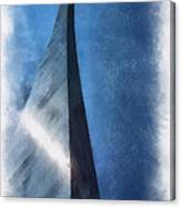Saint Louis Arch Photo Art 01 Canvas Print