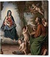 Saint Luke Canvas Print