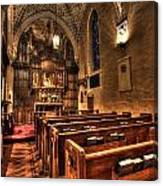 Saint Marks Episcopal Cathedral Canvas Print