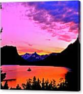 Saint Mary Lake Twilight Canvas Print