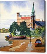 Saint Mary's Church Battersea London Canvas Print