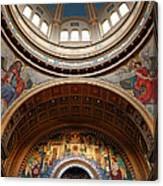 Saint Matthew's Cathedral Canvas Print