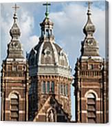 Saint Nicholas Church In Amsterdam Canvas Print