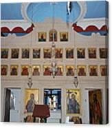 Saint Nicholas Erikousa 1822 Canvas Print