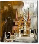 Saint Patrick's Cathedral Church Canvas Print