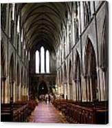 Saint Patrick's Cathedral Interior Dublin Canvas Print