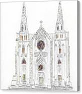 Saint Patrick's Cathedral Canvas Print