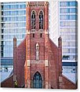 Saint Patrick's Church San Francisco Canvas Print