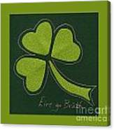 Saint Patricks Day Collage Number 11 Canvas Print