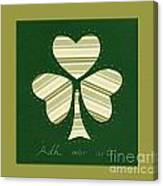 Saint Patricks Day Collage Number 14 Canvas Print