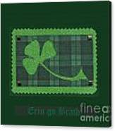 Saint Patricks Day Collage Number 28 Canvas Print