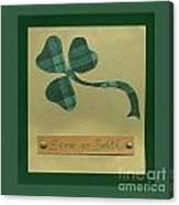 Saint Patricks Day Collage Number 3 Canvas Print