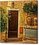 Saint Paul De Vence France Dsc02357 Canvas Print