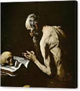 Saint Paul The Hermit Canvas Print