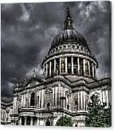 Saint Pauls Cathedral Canvas Print