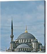 Saint Sophia's In Istanbul-turkey Canvas Print