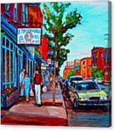Saint Viateur Bagel Shop Canvas Print