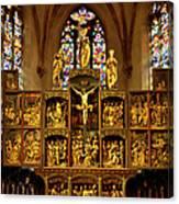 Sainte Croix - Kaysersberg France Canvas Print