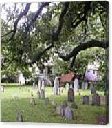 Salem Cemetery Canvas Print