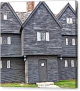 Salem Witch House Canvas Print