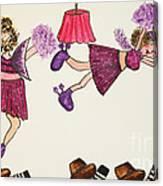 Sales Fairy Dancer 5 Canvas Print