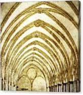 Salisbury Cathedral Cloisters 2 Canvas Print