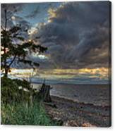 Salish Storm Canvas Print