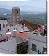 Salobrena Rooftops Canvas Print