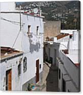 Salobrena Street - Spain Canvas Print