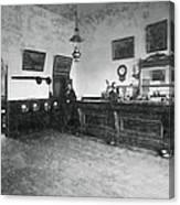 Saloon C. 1890 Canvas Print