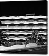 Salou Empty Apartment Properties On The Costa Dorada Catalonia Spain Canvas Print