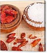 Salt And Piri Piri Canvas Print