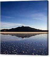 Salt Cloud Reflection Canvas Print