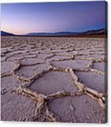 Salt Flat Basin Canvas Print