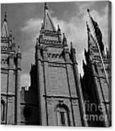 Salt Lake City Lds Temple 3 Canvas Print