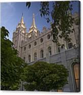 Salt Lake City Temple Canvas Print