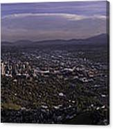 Salt Lake Valley Canvas Print