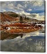 Salt River Landscape Canvas Print
