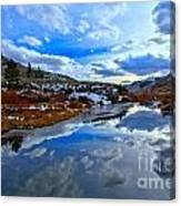 Salt River Reflections Canvas Print