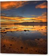 Salton Sea Color Canvas Print