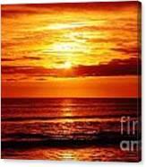 Salty Sunrise Canvas Print