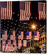 Salute To Old Glory Canvas Print