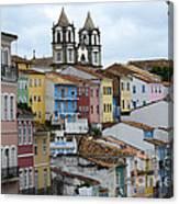 Salvador Brazil The Magic Of Color 2 Canvas Print