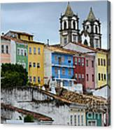 Salvador Brazil The Magic Of Color Canvas Print