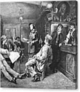 Salvation Army, 1887 Canvas Print