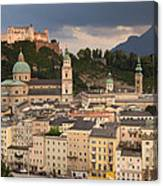 Salzburg After The Storm Canvas Print