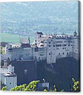 Salzburg Fortress Panorama Canvas Print