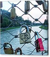 Salzburg Gypsy Locks Canvas Print
