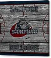 Samford Bulldogs Canvas Print