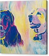 Sammy And Toby Canvas Print